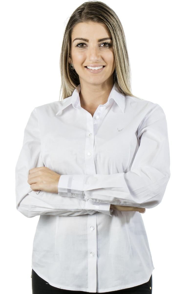 Camisa Social Feminina Peace - Pimenta R no Elo7  3c73b7b043905