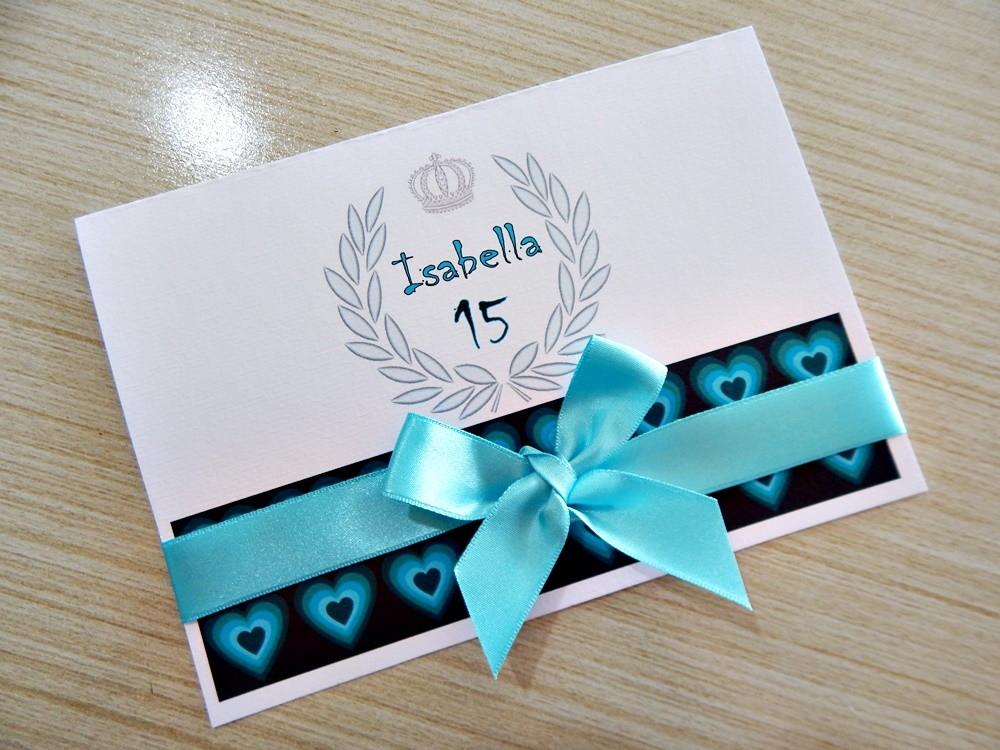 Convite De Quinze Anos: Convites 15 Anos - Romântica No Elo7