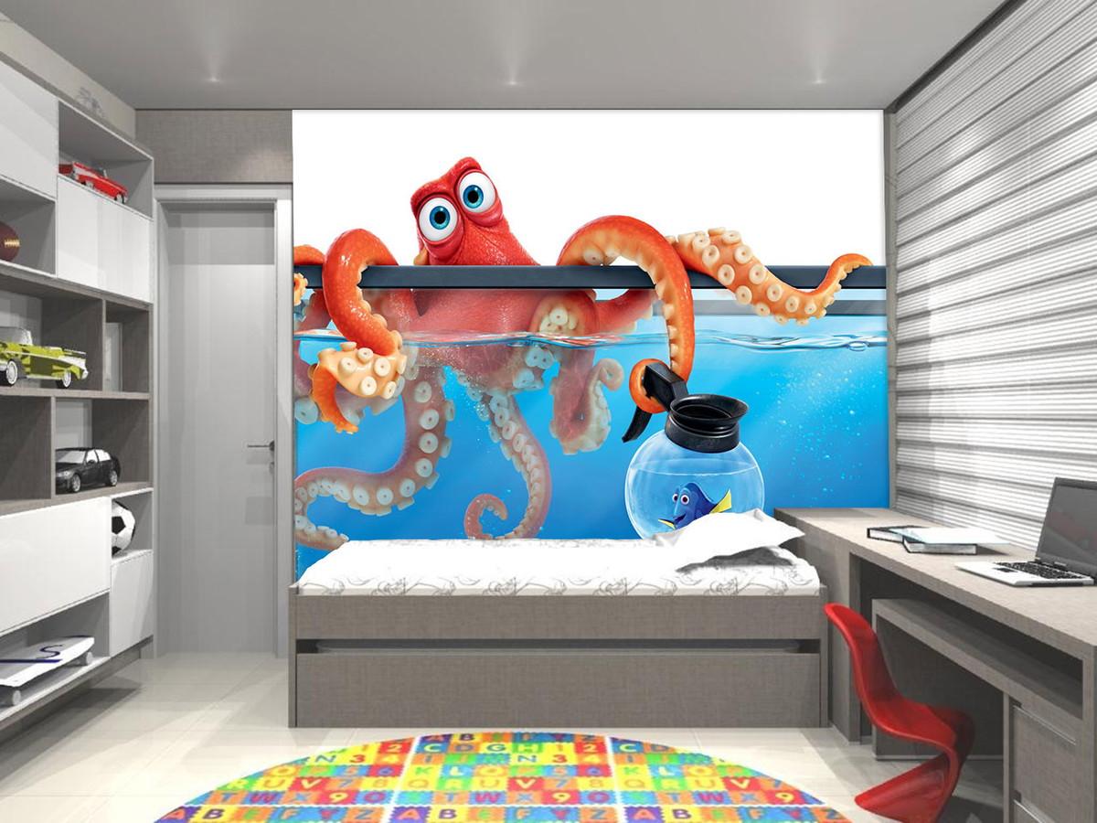 Papel De Parede 3d Procurando Nemo Up Adesivos 3d Elo7 ~ Foto De Papel De Parede Para Quarto