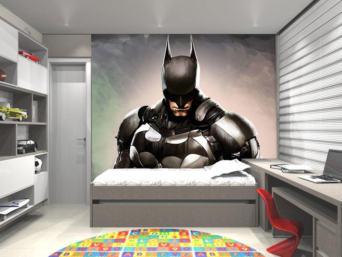 Papel de Parede 3D (Super Heróis)  UP Adesivos 3D  Elo7