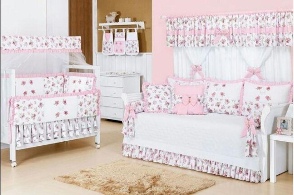 Enxoval De Beb Vict Ria Luxo Completo Juju Baby Arte Elo7 ~ Quarto Do Bebe Menina Com Quarto De Bebe De Luxo
