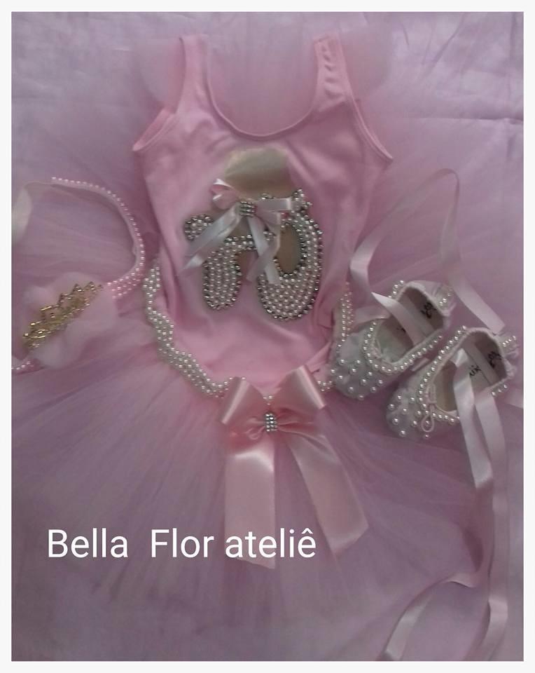 4332898b06 Fantasia bailarina luxo luxo Completa no Elo7