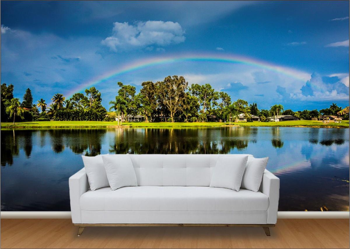 Papel de parede para quarto paisagens - Papel para paredes baratos ...