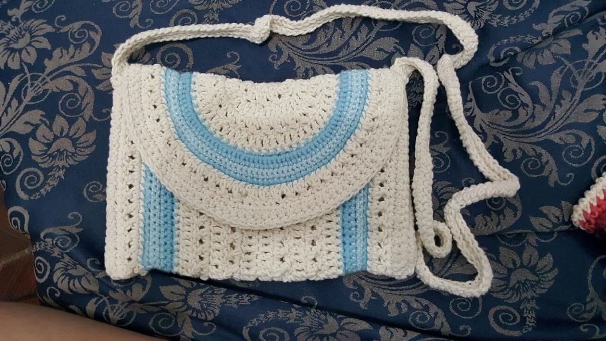 8af783866 Bolsa Crochê de Lado no Elo7 | Elizabeth Fernanda (8626F2)