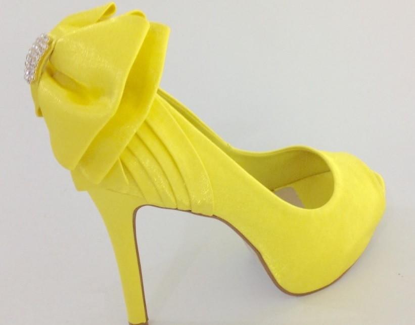 c4f508b1d Sapato de Noiva Amarelo no Elo7 | AppleShoes (8691EB)