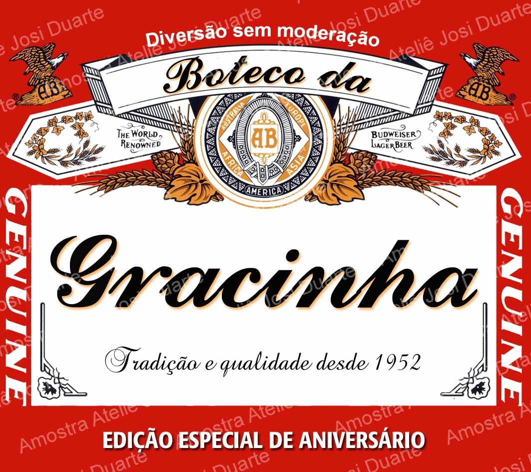 0f3a8f799c60e Adesivo cerveja long neck Budweiser no Elo7   Loja Criativa ...