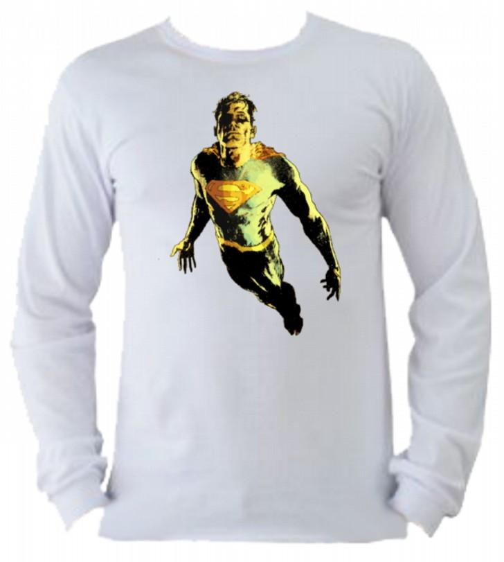 Camiseta Superman manga longa 5 no Elo7  b394176de5692