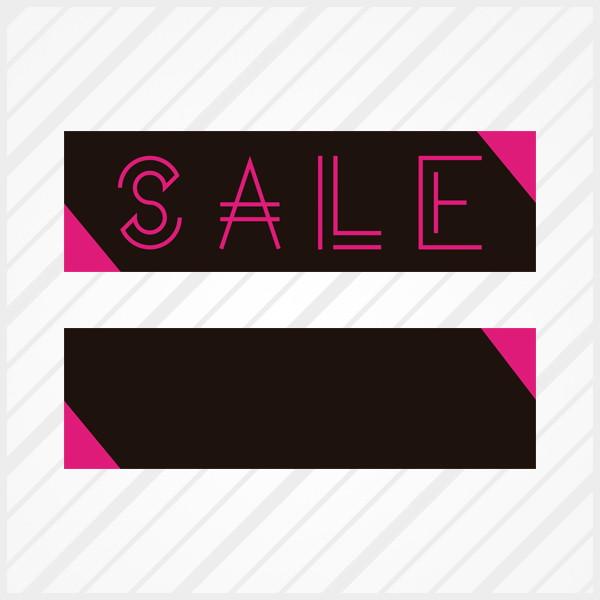 3038a5788 Adesivo de Vitrine Sale Neon Faixa no Elo7