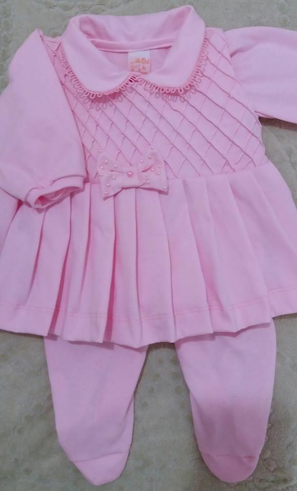 Macacão com vestidinho cavado por cima no Elo7   Sonho Meu - Moda ... d0a44a4351
