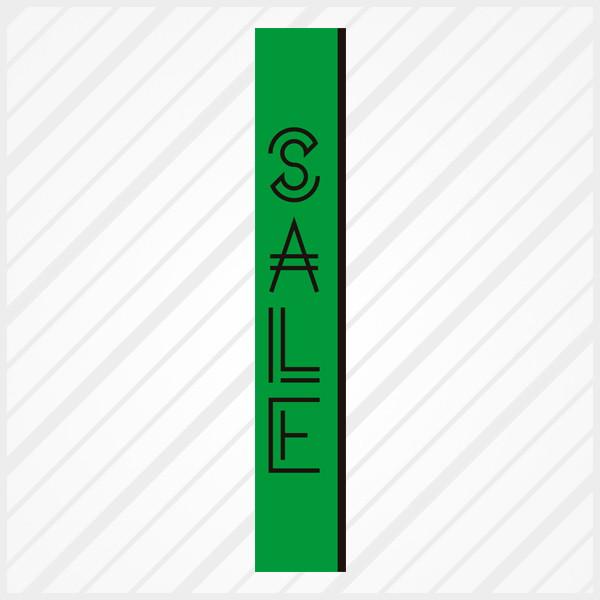 2f1c7dfb3 Adesivo de Vitrine Sale Neon Faixa Vert no Elo7