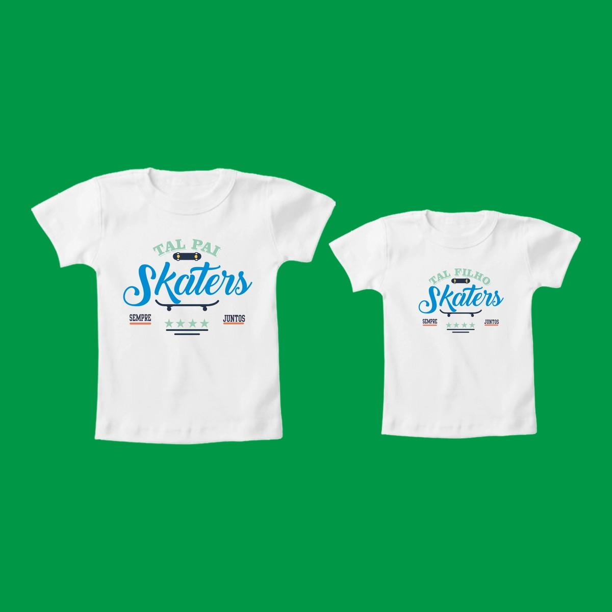 Camiseta Tal Pai Tal Filho Skate 2 no Elo7  3f0c55b2ff9ea