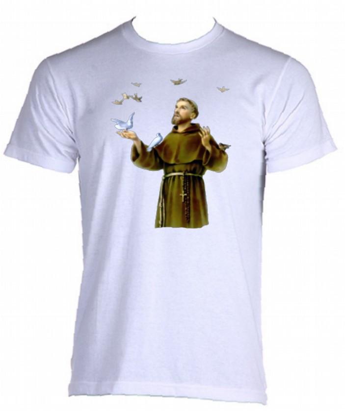 41391fb1ae Camiseta Santos Católicos - 07 no Elo7