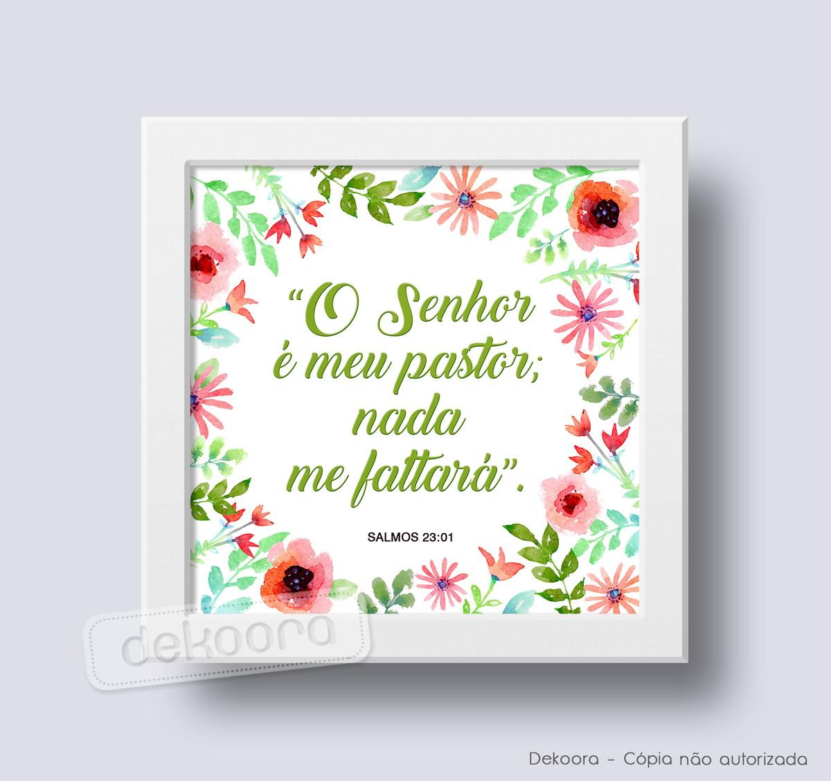 Salmo 23 Flores