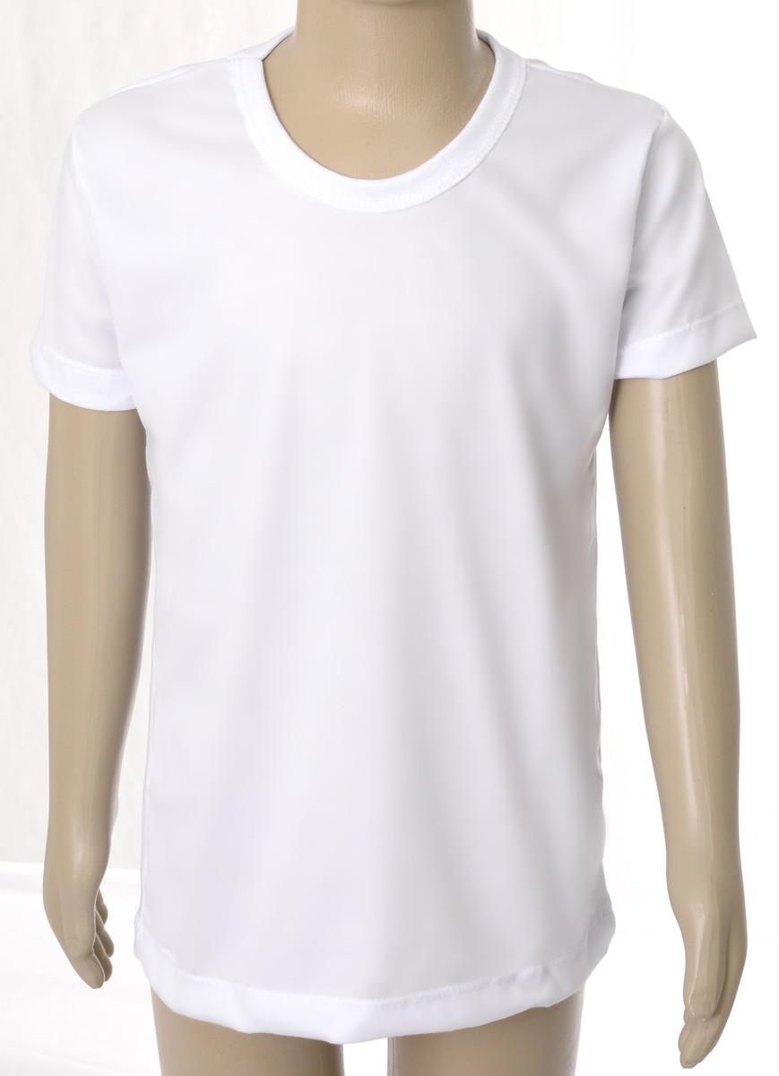 5f5353a1dc Camiseta Lisa Infantil 100% Poliéster no Elo7