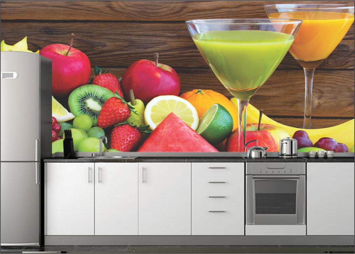 Papel de parede 3d cozinha up adesivos 3d elo7 - Papel pared 3d ...