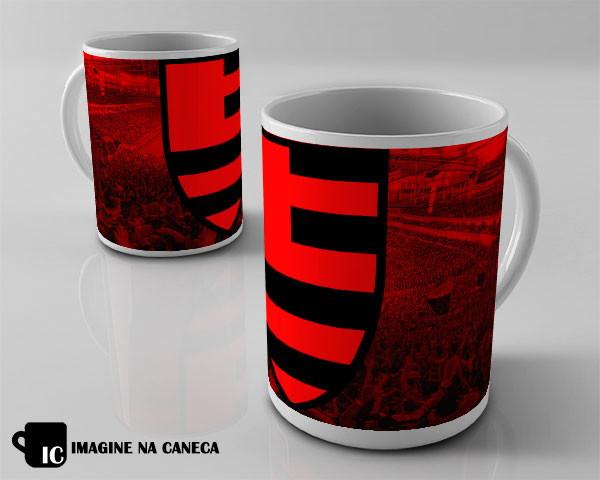 b9e8657218 Caneca Flamengo no Elo7