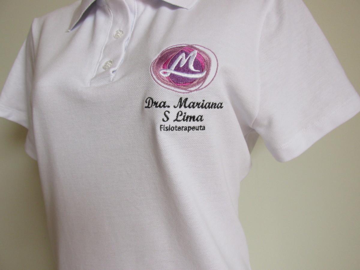 Camiseta Polo em Piquet manga curta no Elo7  f0abbdcb5b516