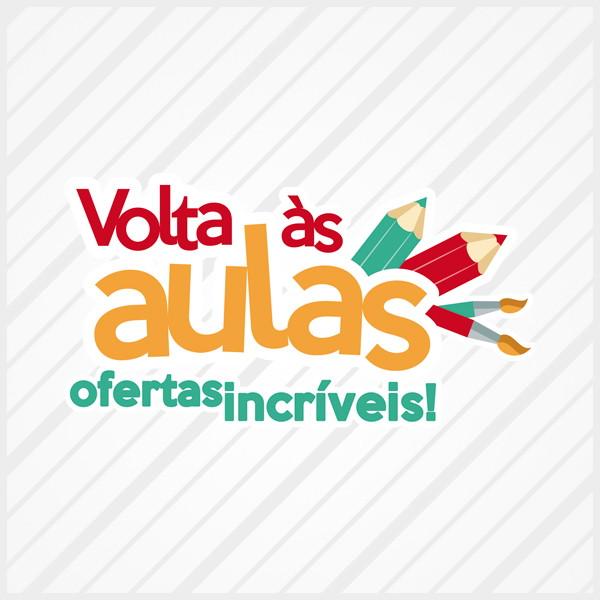 6b42a8f4ec8dc Adesivo Vitrine Volta às Aulas Ofertas no Elo7   Vitrinista Online ...