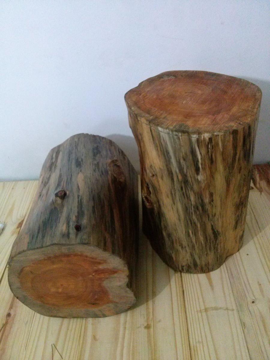 Artesanato Indigena Onde Comprar ~ tora de madeira,banco madeira,tronco, Ricardo Souza Elo7