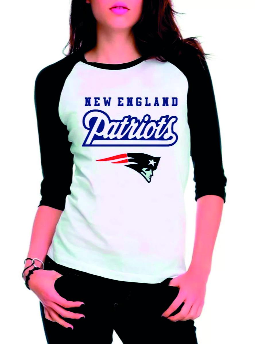 Camiseta 3 4 New England Patriots NFL no Elo7  e9e5904ba57