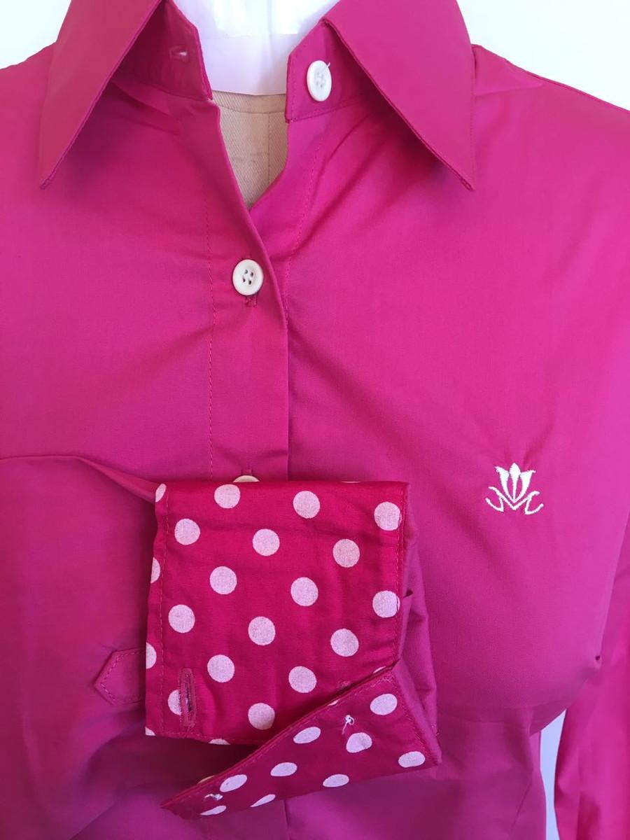 Camisa feminina manga longa Pink 36 no Elo7  81d0847d3738a