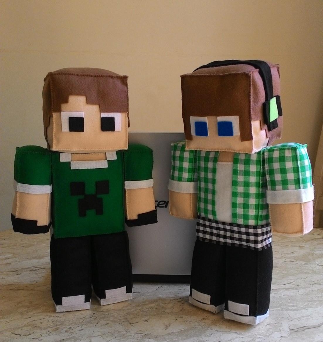 Minecraft Skin Authentic Games Ou Amigos No Elo Fiapinho Ateliê - Skin para minecraft do zoom