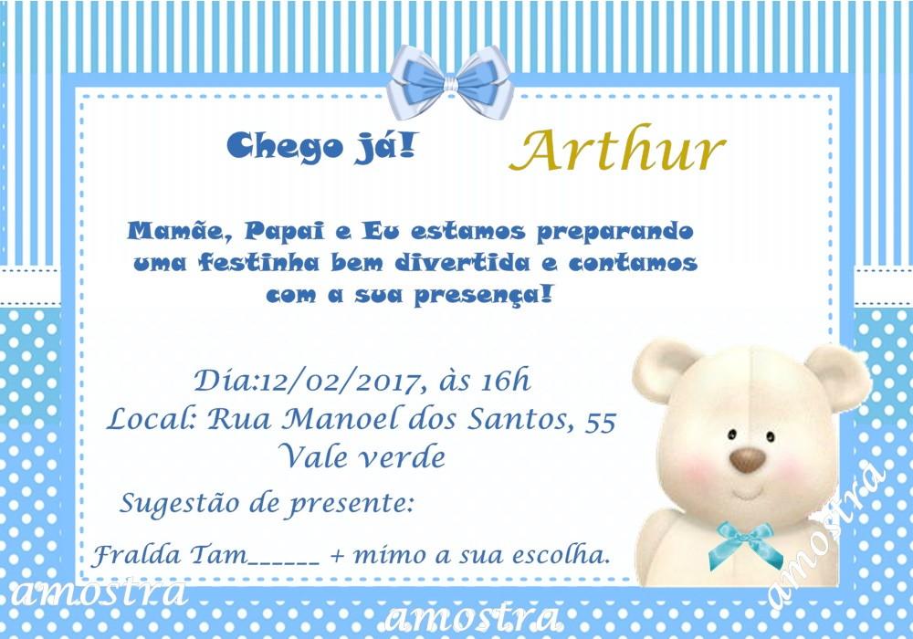 Convite Cha De Bebê No Elo7 Acriativa Presentes 88b08e