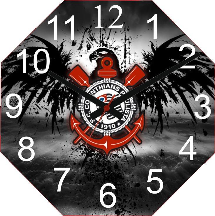 7525aac13281e Relógio Personalizado Time Cotinthians no Elo7