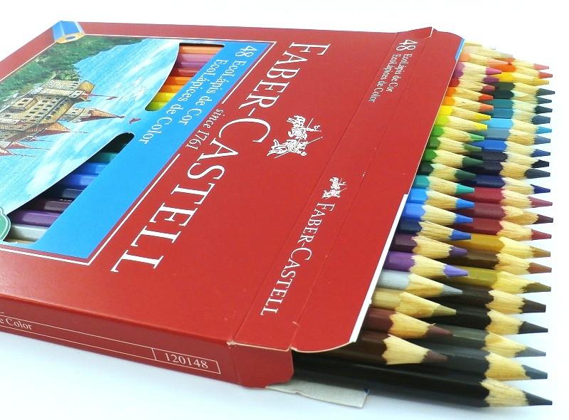 af89a89618 Lapis De Cor Faber Castell 48 Cores no Elo7