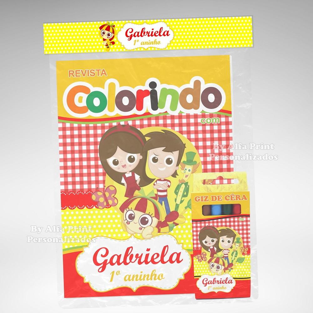 Kit Colorir Sitio Do Picapau Amarelo Bri No Elo7 Alfa Print