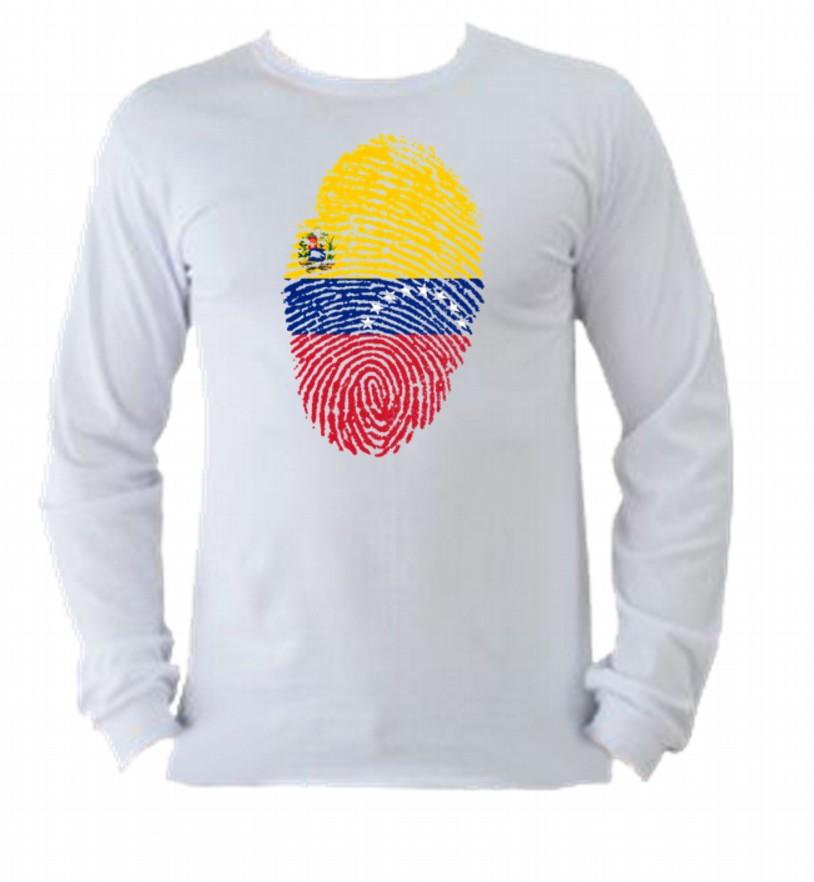 ec6ed5df6 Camiseta Allsgeek Vezezuela m. longa 7 no Elo7