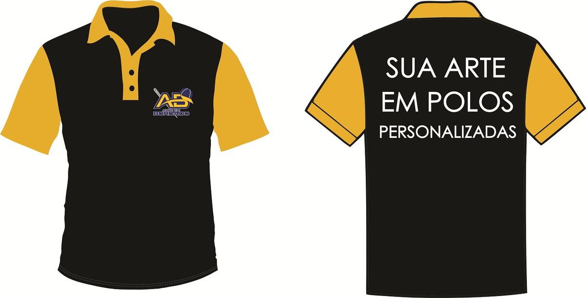 a22206e3e Camisa Pólo lisa ou personalizada no Elo7