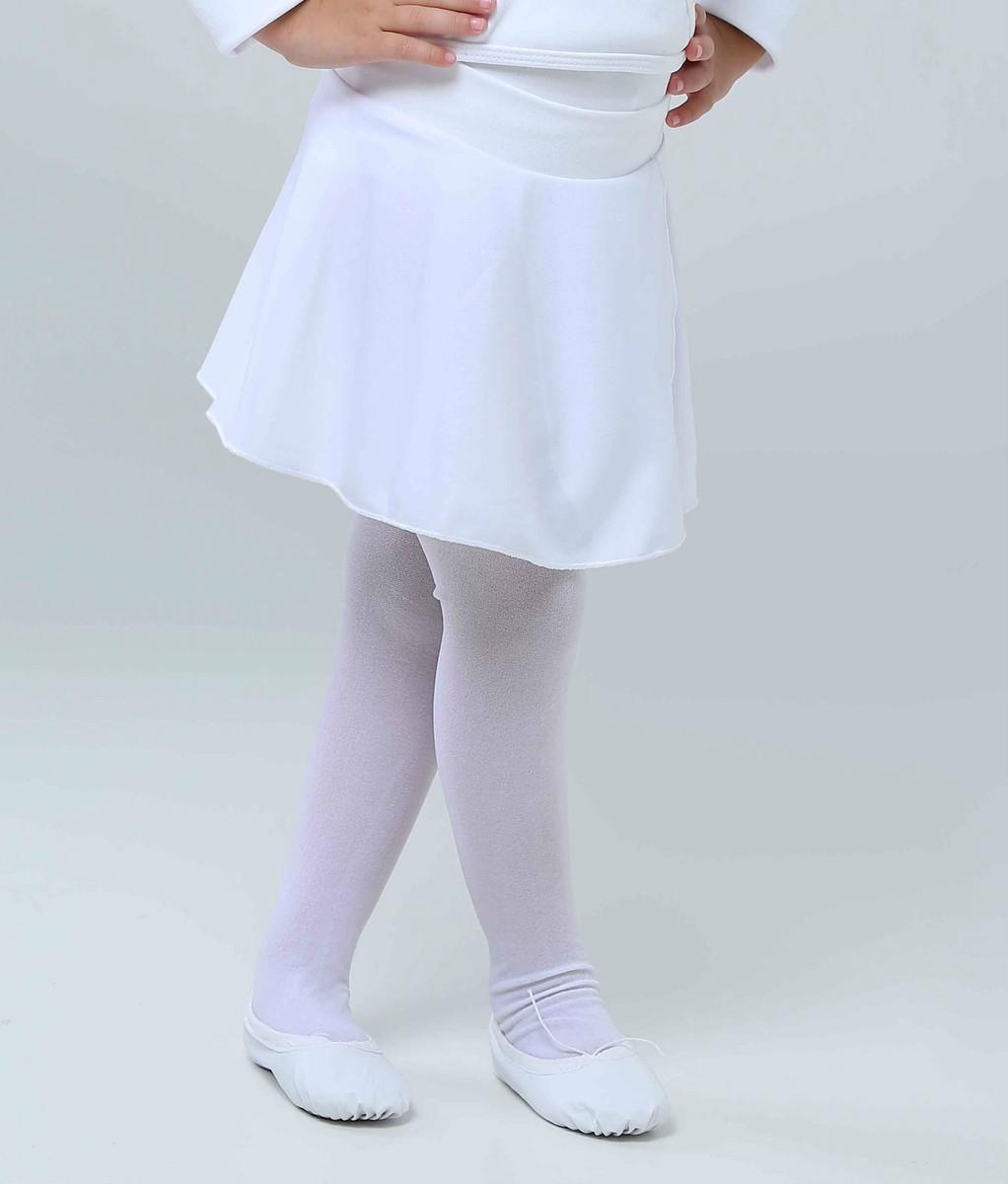 d0520811f Saia Ballet Infantil Branca no Elo7