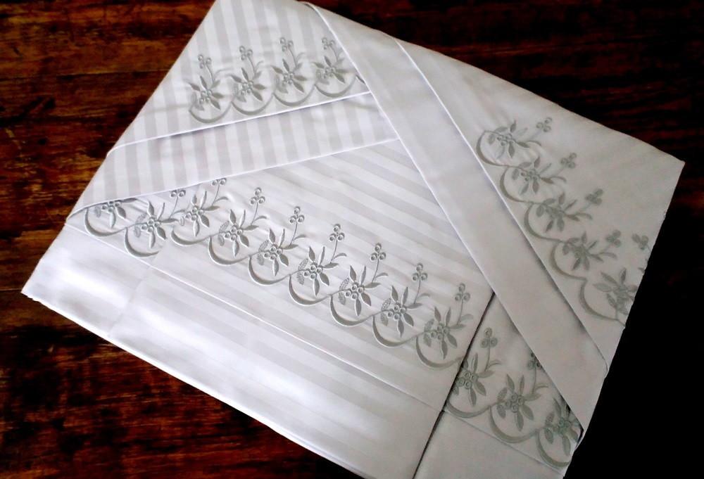 2c1ec586a5 Jogo de Lençol 500 fios Queen no Elo7