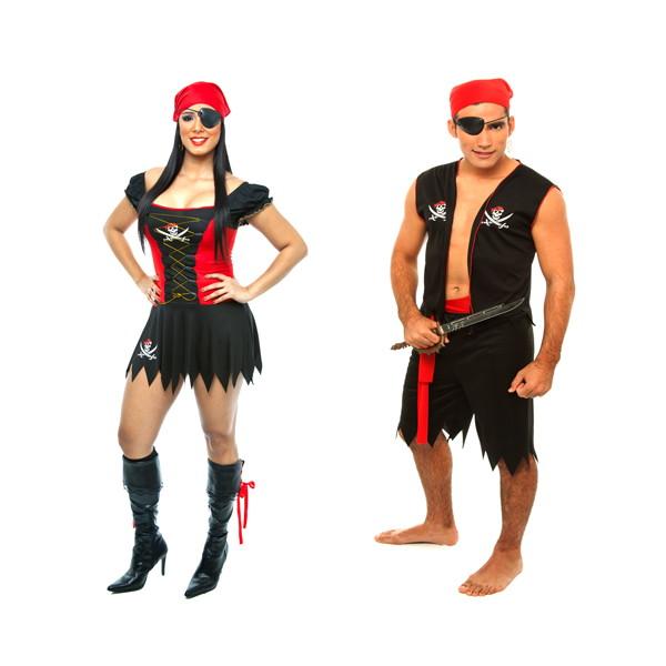 Fantasia Pirata Carnaval Casal 2 Fanta No Elo7 Loja Pierrot