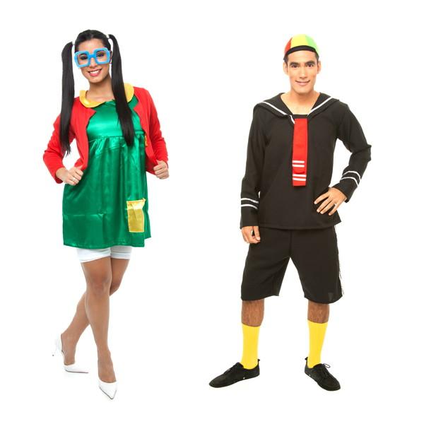 Fantasia Chiquinha E Kiko Carnaval Casal No Elo7 Loja Pierrot