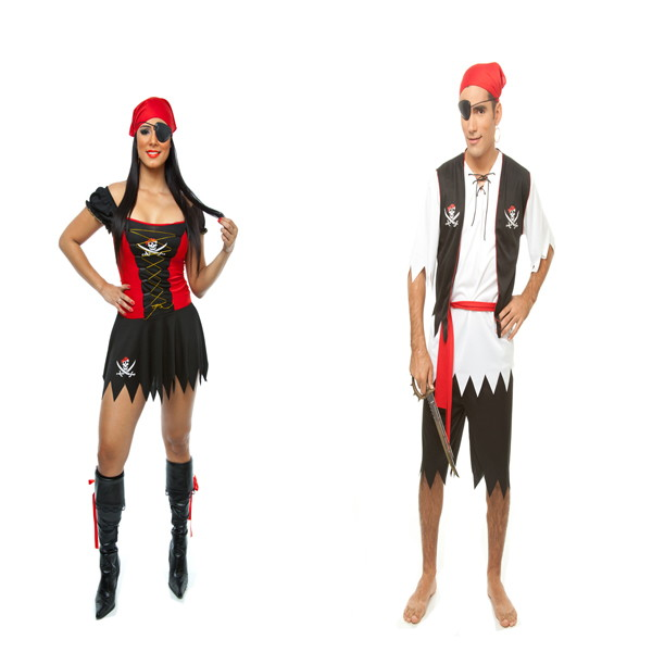 Fantasia Pirata Masculino E Feminino No Elo7 Loja Pierrot