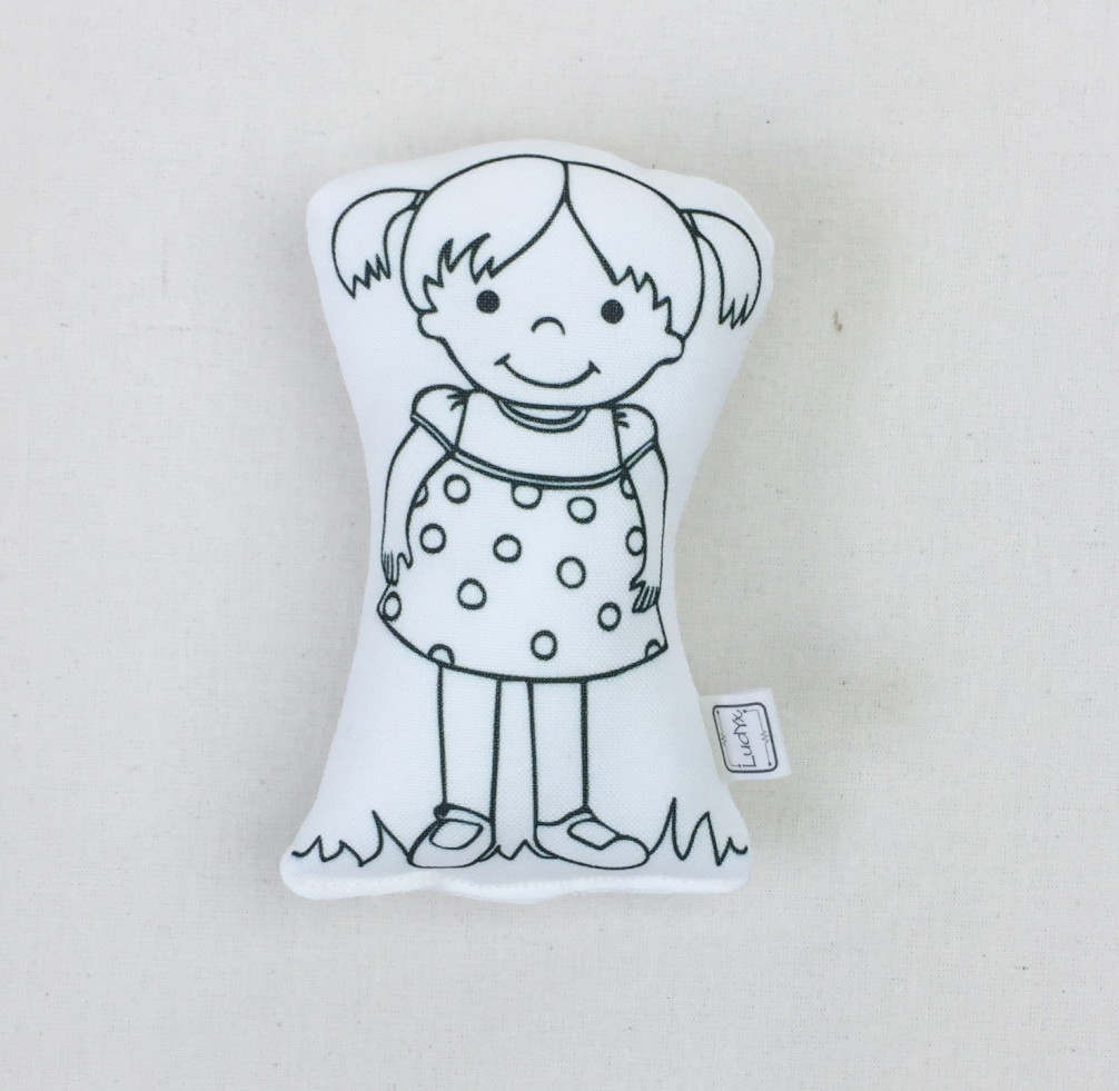 Muito Boneca de colorir: menina Sally (M) no Elo7 | LudYx brinquedos  MD88
