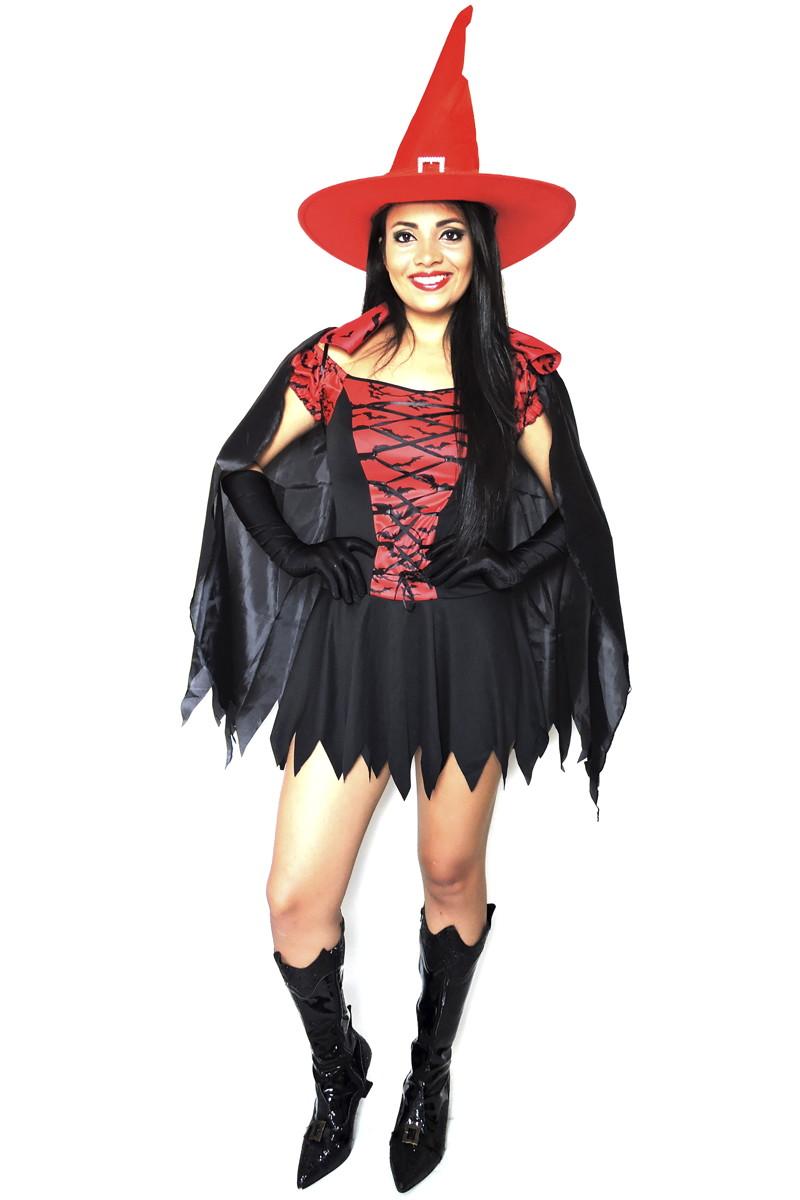 9e8fa3602 Fantasia Bruxa Adulto carnaval halloween no Elo7