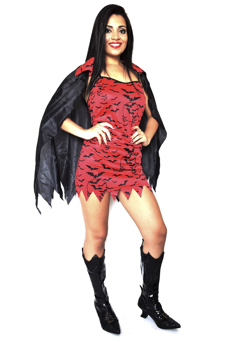 Fantasia Vampira Adulto Carnaval Hallowe No Elo7 Loja Pierrot