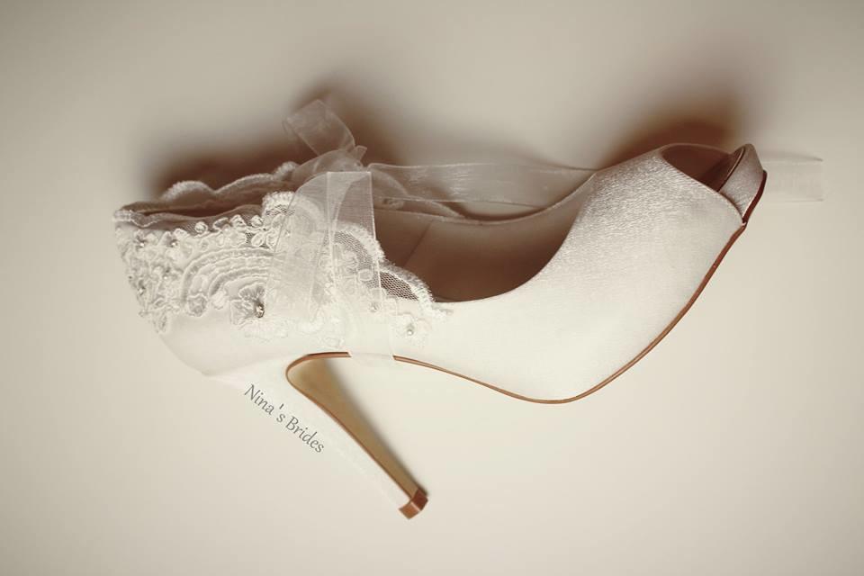 325bb7fbf Peep Toe Noiva no Elo7 | Nina's Brides (8A41D5)