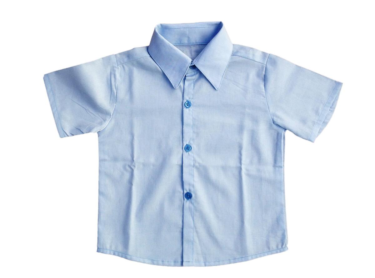 004cc91309b89 Camisa Social Infantil: manga curta no Elo7   Mio Bambino Roupas ...