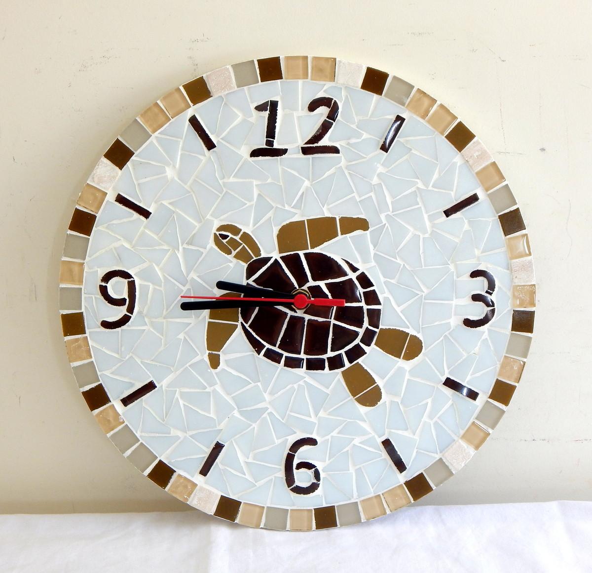42d55a0fb5f Relógio de tartaruga no Elo7