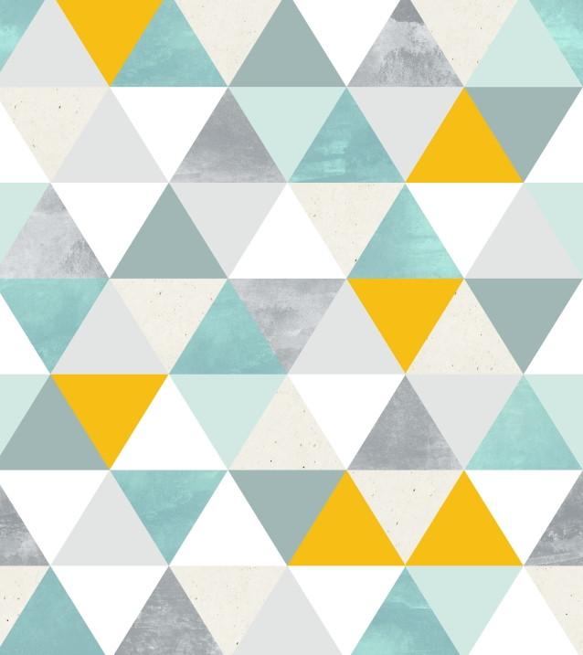 Papel de parede geom tricos tri ngulos adcorista 6666cf no for Papel texturizado pared