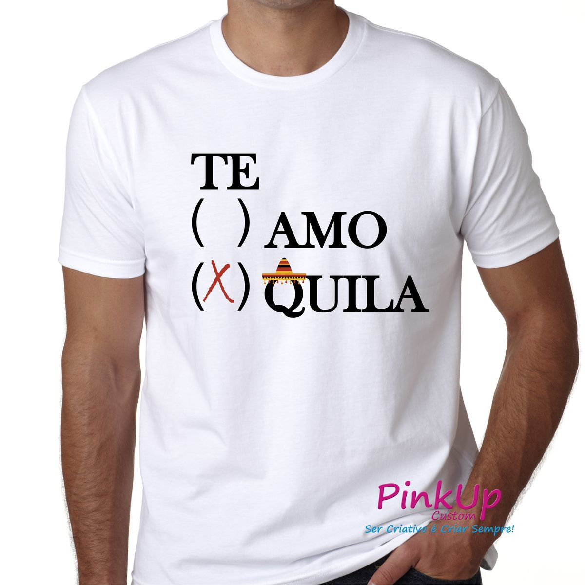 Camiseta Unissex - Tequila no Elo7  50501325e575a