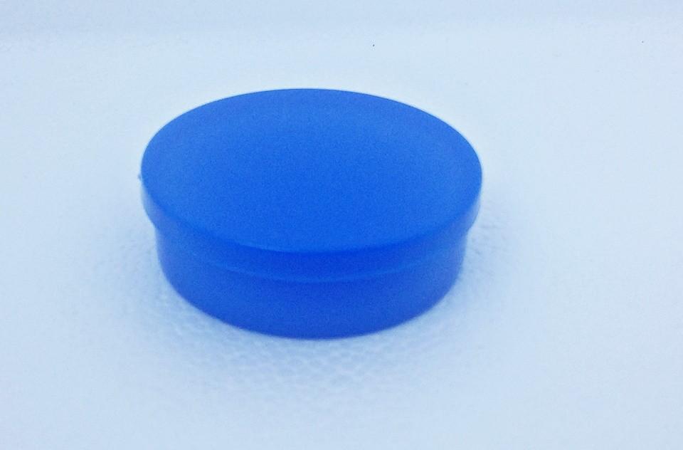 3743f9e34244f 100 Latinhas 5x1 Mint To Be Redonda Azul Royal Lembrancinha no Elo7 ...
