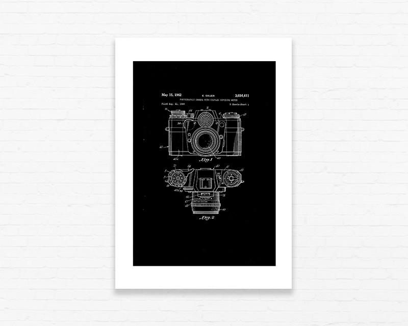 Quadrinho 19x27 Desenho Tecnico Camera No Elo7 Plocker 8b1141