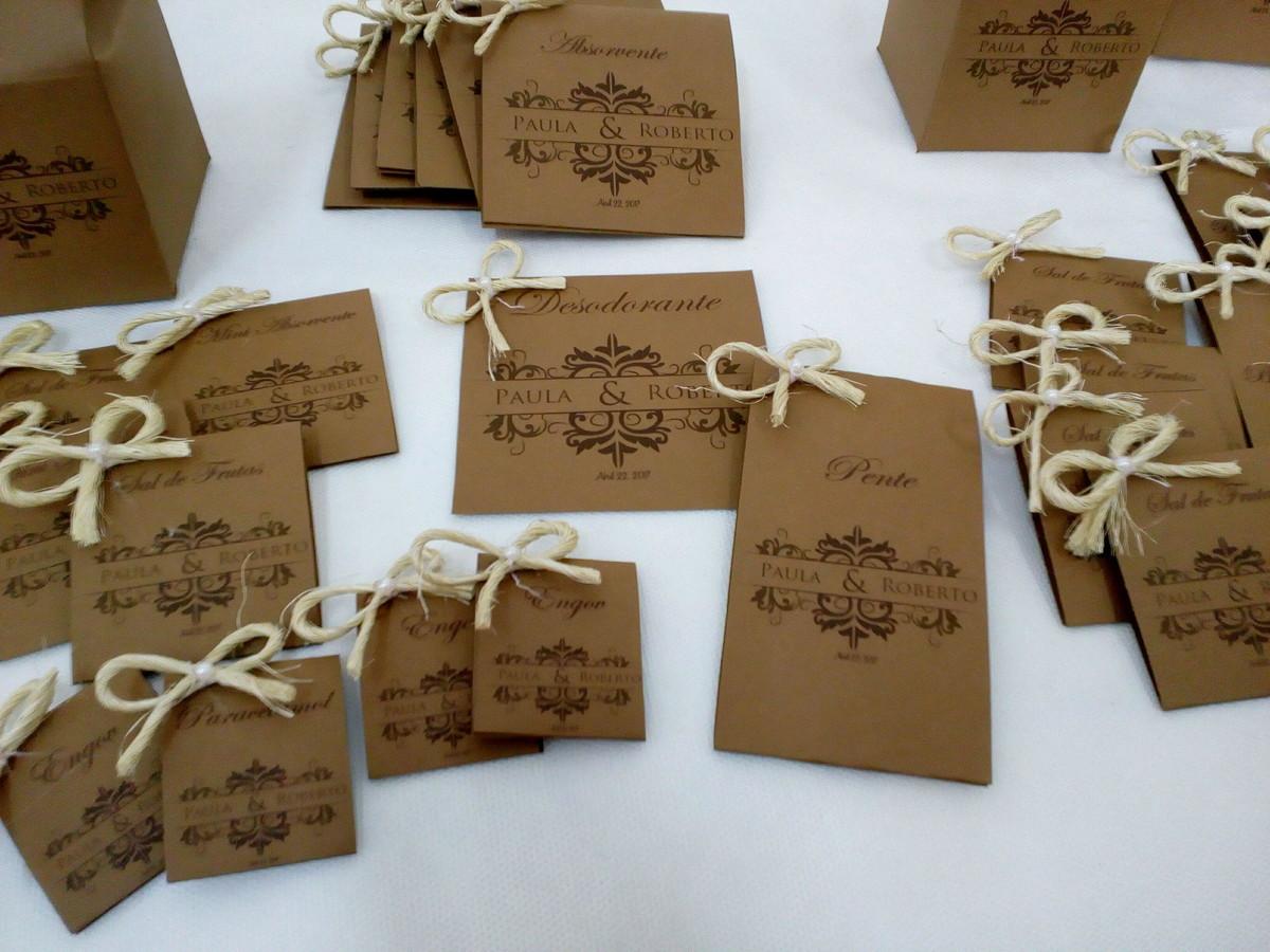 Kit Toalete Casamento Rústico : Embalagens kit toalete r?stico feminino no elo atelie