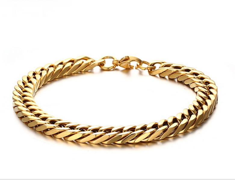 469d65ec5aae1 Pulseira elo cubano em ouro no Elo7