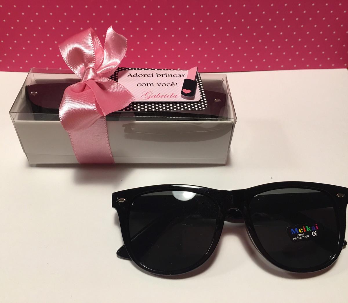 f4b0bbe89 Lembrança óculos escuros infantil no Elo7   rakiroze (8B9BB1)